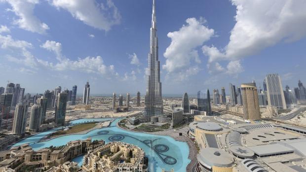 panorama città dubai mall