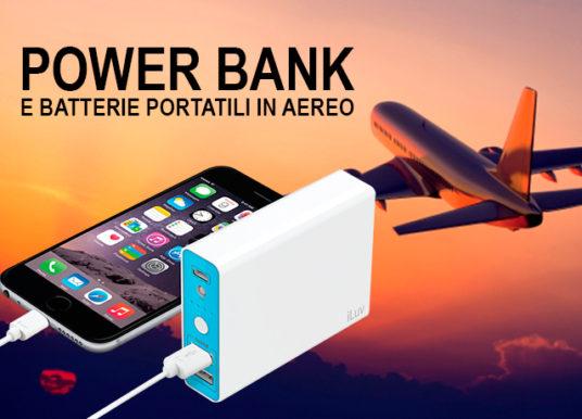 Power Bank e batterie portatili in Aereo – Powerbank