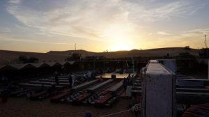 tramonto dune