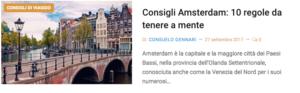 10 consigli Amsterdam