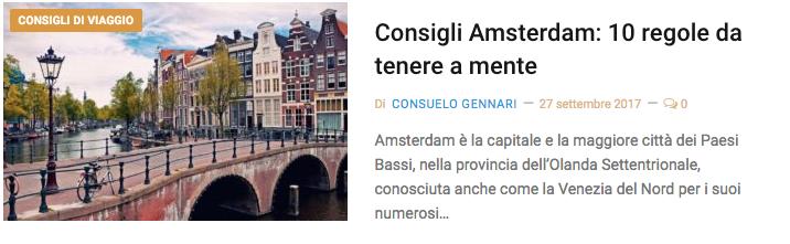 Consigli amsterdam