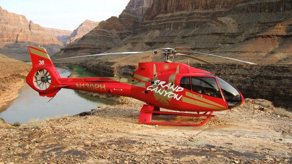 Grand Canyon elicottero