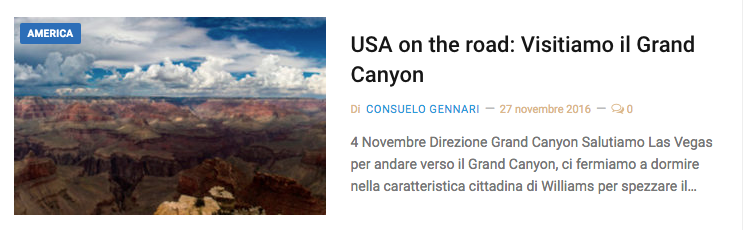visitare il grand canyon