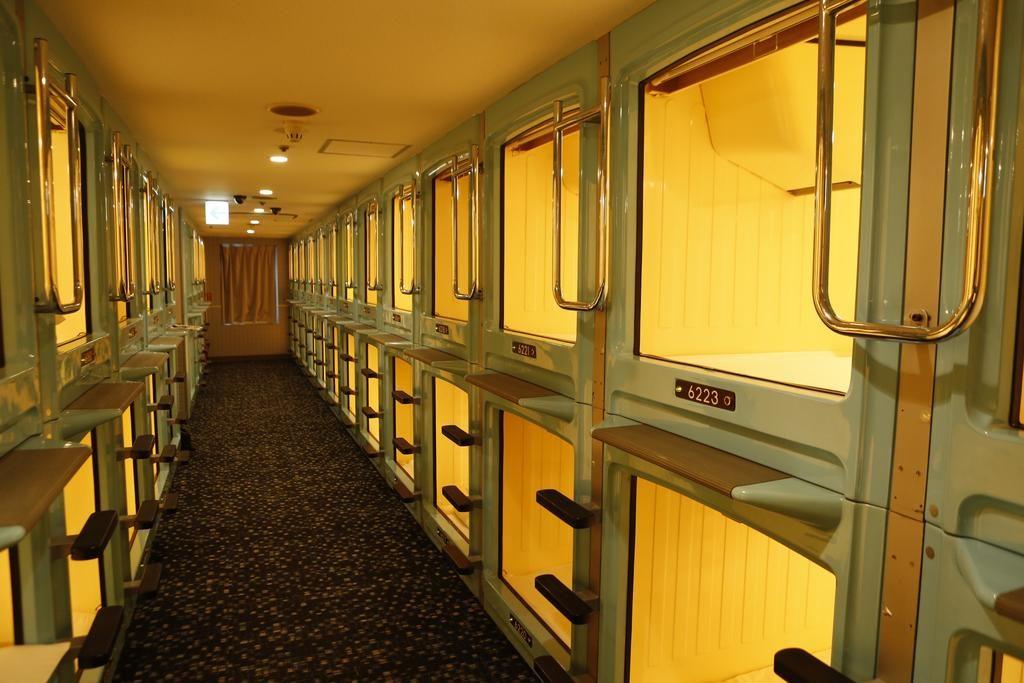 capsula hotel tokyo