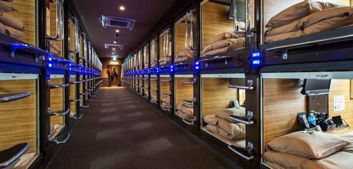 capsula hotel giappone