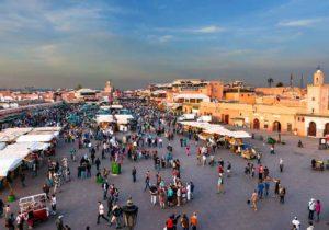 Djema El-Fna Marrakech