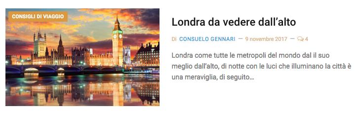 Londra vedere
