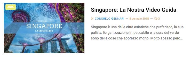 Singapore guida di viagio