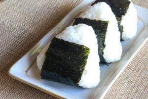 onigiri vegan Giappone