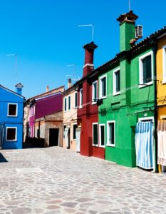 venezia case colorate
