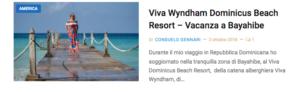 repubblica dominicana vacanze