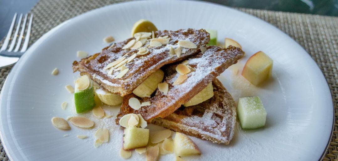 waffle colazione