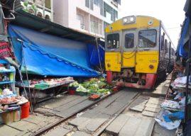 Il mercato sulle Rotaie e il Mercato Galleggiante di Bangkok –