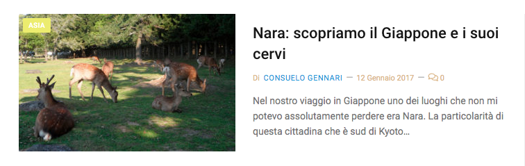 cervi giappone