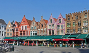 case colorate bruges