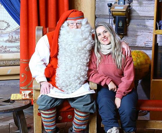 Dove Si Trova In Questo Momento Babbo Natale.Incontrare Babbo Natale A Rovaniemi Finlandia K Around The World