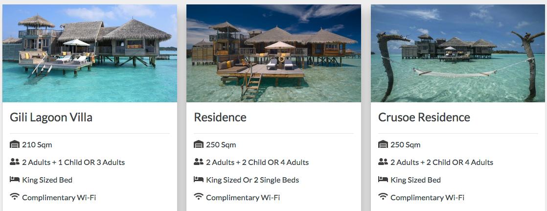 ville maldive